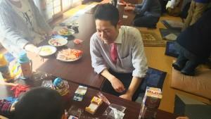 長野市の子ども食堂で子どもと遊びました。
