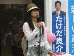 ママの会の増田奈緒子さん