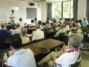 関市のつどいは会場いっぱいのみなさんにご参加いただきました